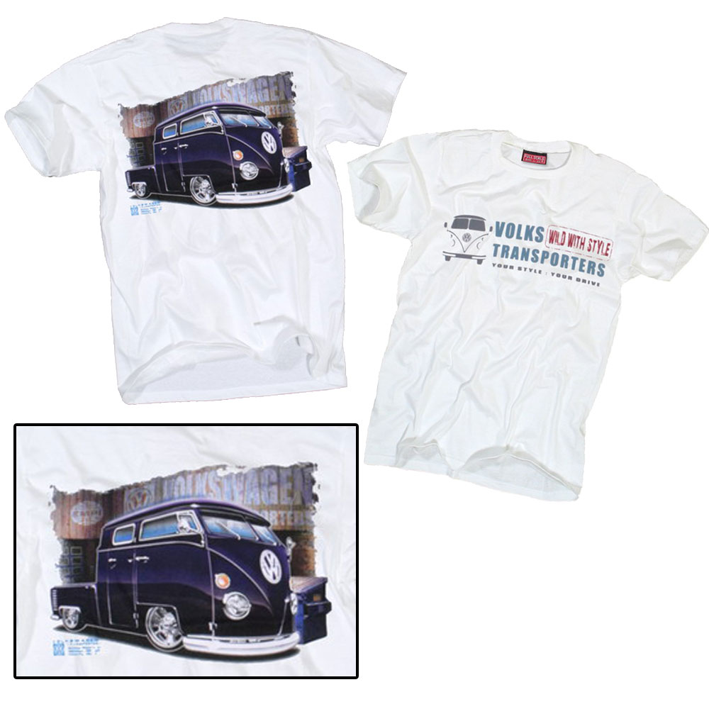 vw t shirt volkswagen classic bulli t2 t3 t1 t4 t5 bus s xl. Black Bedroom Furniture Sets. Home Design Ideas