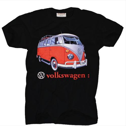 vw bus t shirt volkswagen t1 samba classic gr m ebay. Black Bedroom Furniture Sets. Home Design Ideas