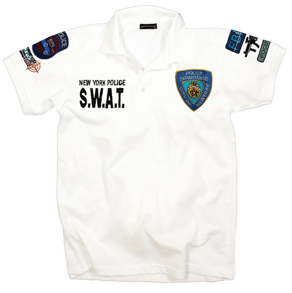 S-W-A-T-POLO-SHIRT-SWAT-NEW-YORK-POLICE-WEIss-GR-XXL