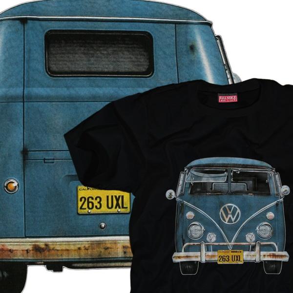 vw bus t shirt volkswagen bulli samba t1 t2 t3 t4 t5 nos bully retro aircooled ebay. Black Bedroom Furniture Sets. Home Design Ideas
